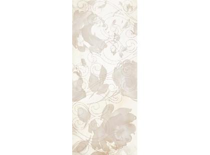 Serenissima Capri Royal onyx bianco Inserto Bloom Bianco