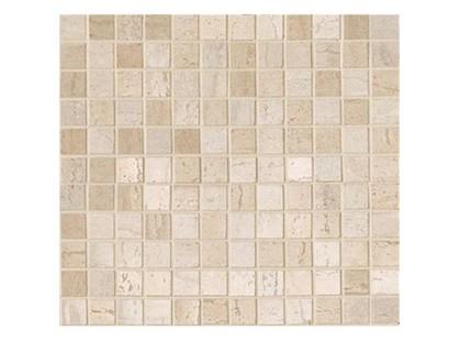 Serenissima Capri Royal onyx bianco Mosaico Mix Beige/Bianco 2*2