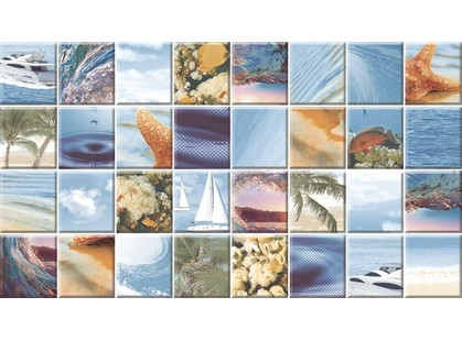 Ceradim Cascade Dec Mozaic Sea