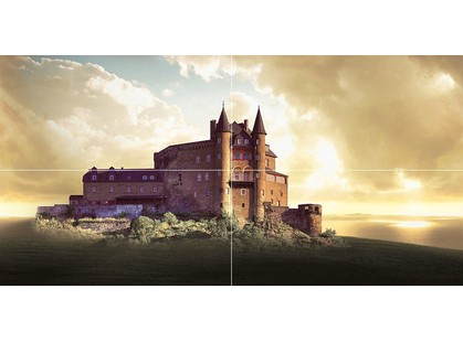 Ceramica Classic Castle Castle Панно P4D194 80х40 (из 4 плиток)