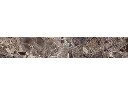 Ceramica Classic Illyria Flowers Illyria marrone Бордюр напольный 5х30