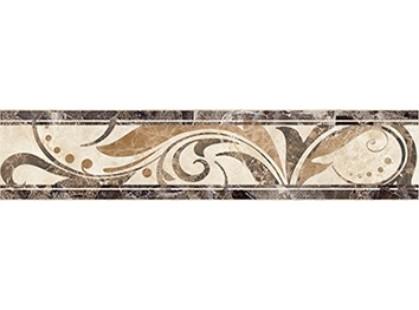 Ceramica Classic Illyria Vendom Illyria vendom cappuccino Бордюр напольный 6,6х30