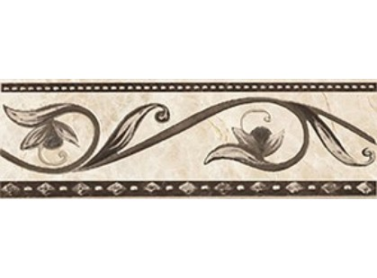 Ceramica Classic Illyria Illyria marrone бордюр  8х25