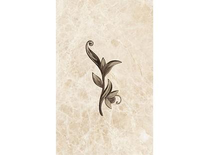Ceramica Classic Illyria Illyria marrone декор 25x40