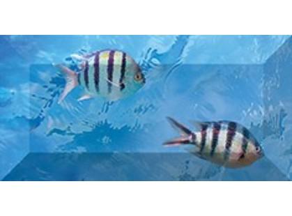 Ceramica Classic Ocean Deep Бордюр рельефный br1020D302_228-2 20х10
