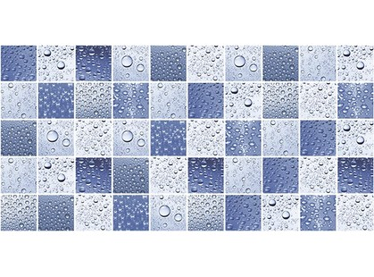Ceramica Classic Waterlife Ультрамарин синий Мозаика стандарт 10-31-65-276 25х50