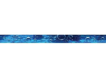 Ceramica Classic Waterlife Bubbles ultramarine Бордюр 50x4