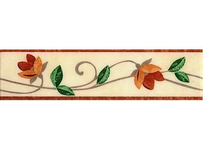 Ceramica Colli Olimpia 2778  List. Loren Rosa/Rosso