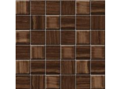 Ceramiche RHS (Rondine) Eramosa Mosaico Brown Mix Nat/Lapp 5x5