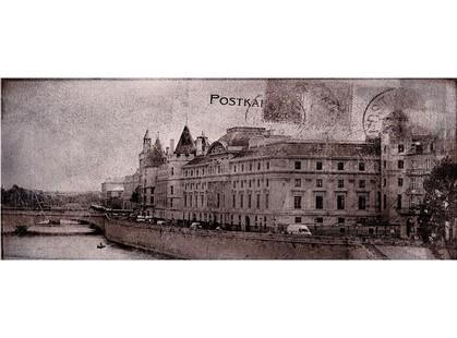 Ceramika Konskie Treviso Postcard grey 2