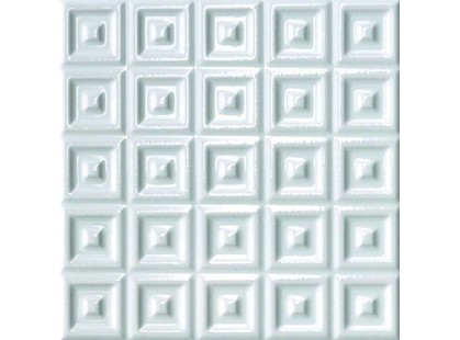 Cerasarda Parentesi Quadra Quadra A Bianco Puro
