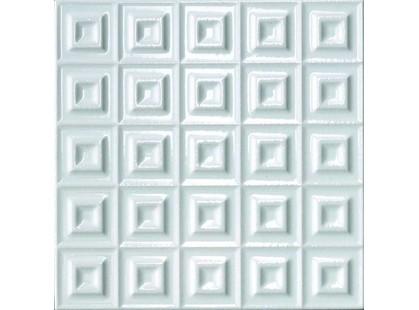 Cerasarda Parentesi Quadra Quadra B Bianco Puro
