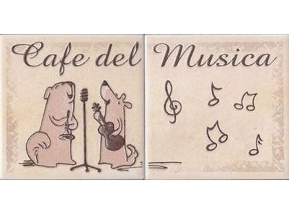 Cerkolor Mallorca Animals Cats Beige Kompozycja (listwa) A
