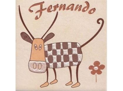 Cerkolor Mallorca Animals Milka Beige Motyw B (Бык Fernando)