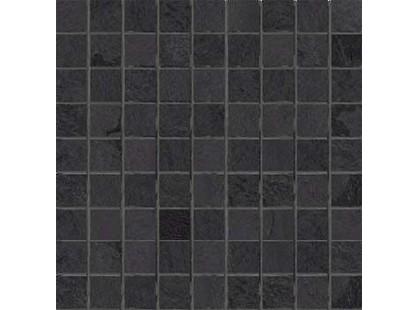 Cercom Crystal Mosaico Antracite Nat 3x3