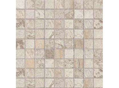 Cercom Crystal Mosaico Bianco Nat 3x3