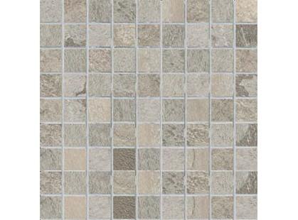 Cercom Crystal Mosaico Grigio Nat 3x3