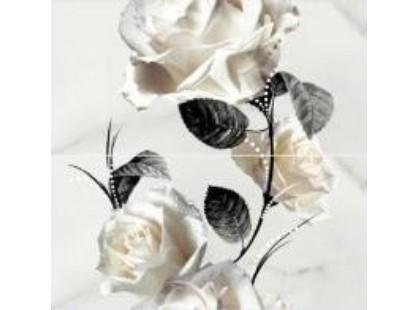 Cersanit Carrara Белый Цветок (O-CRR-WPG052)