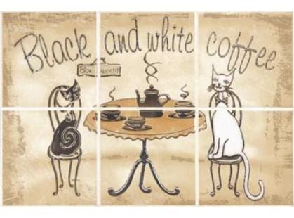Cersanit Sagra beige Coffee  (6 эл) (U-SAG-WPB306)