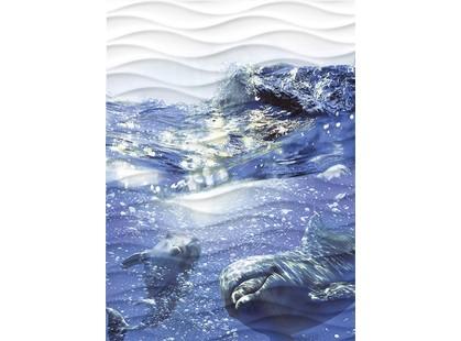 Cersanit Wave Dolphins  (WA2T123D)