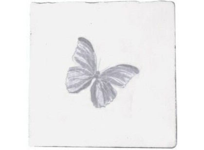 Cevica Provenza Dec. Butterfly Gris Prov.Blanco