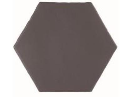 Cevica Marrakech Negro Hexagon