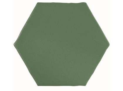 Cevica Marrakech Verde Hexagon
