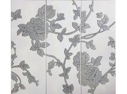 Cifre Primavera Flores Conjunto 3 Gris