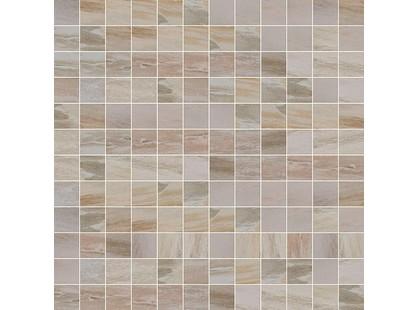 Cisa Ceramiche Jurassic Rosone Beige Mosaico Lapp-Rett. Beige