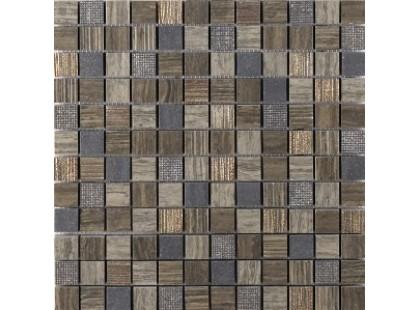 Coem Millerighe Mosaico Decorato Greige-brown