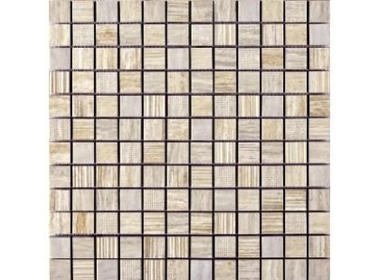 Coem Millerighe Mosaico Decorato Platinum White-caramel