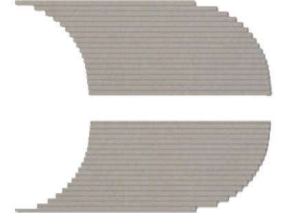 Coem Tinte Unite Xs Semitondo Sx-dx 03 Grey