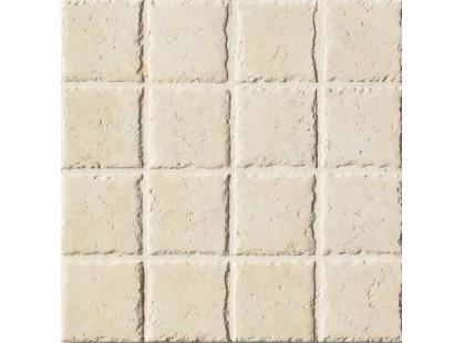 Coem Travertino Romano Al Contro Mosaico White 7,5x7,5
