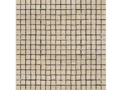 Coem Travertino Romano Al Verso Mosaico Beige 1,5x1,5