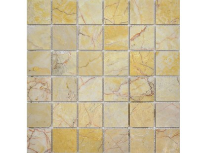 Colori Viva Natural Stone CV20005Mos.Polished Sunny Peach 5x5