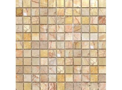 Colori Viva Natural Stone CV20042Mos.Polished Sunny Peach 2.5x2.5