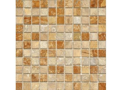 Colori Viva Natural Stone CV20051Mos.Nat./Polished Golden Travertin 2.5x2.5