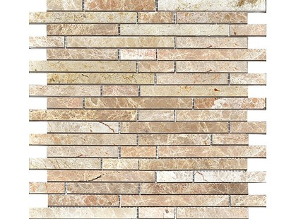 Colori Viva Natural Stone CV20080	Strips Polished Light Emperador