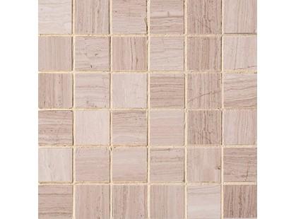 Colori Viva Natural Stone CV20154 Mos. Light Wooden Vein Polished 5x5