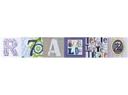 Colorker Mandalay Listelo School B Ocean/Violet