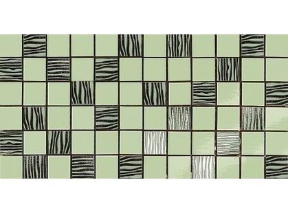 Dado Ceramica Alterego Mosaico  Platino Verde
