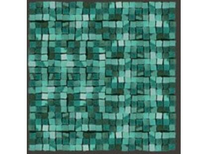 Del Conca Corti Di Canepa Glamour мозаика на сетке 1,5х1,5 Mare