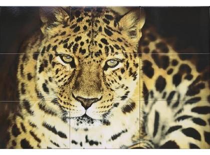 "Дельта Керамика Леопард декоративные элементы ПН9ЛППГ  ""Леопард""   (из 9-ти плиток)"
