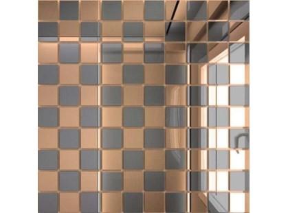 ДСТ Зеркальная плитка Бронза + Графит Б50Г50