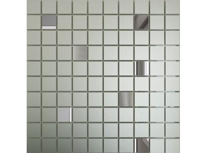 ДСТ Зеркальная плитка Серебро матовое + Графит См90Г10