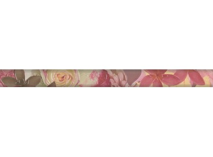 Eco Ceramic Onix Rose Cenefa Floral