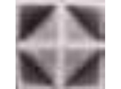 Elios Ceramica Wine Country Amethyst Diamond Cube Amethyst