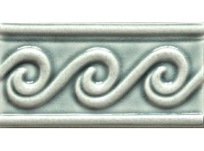 Elios Ceramica Wine Country Rosemary Wave Border Rosemary