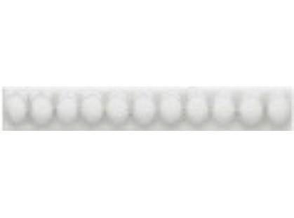 Elios Ceramica Wine Country White Bead Linear White