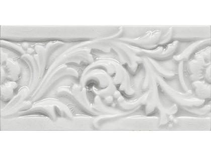 Elios Ceramica Wine Country White Blossom Border